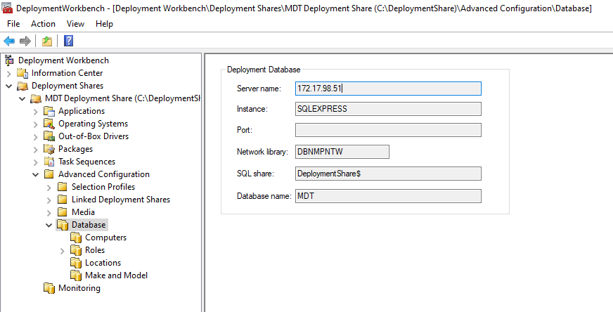 【Day 3】 建立MDT Deployment Share及SQL Database